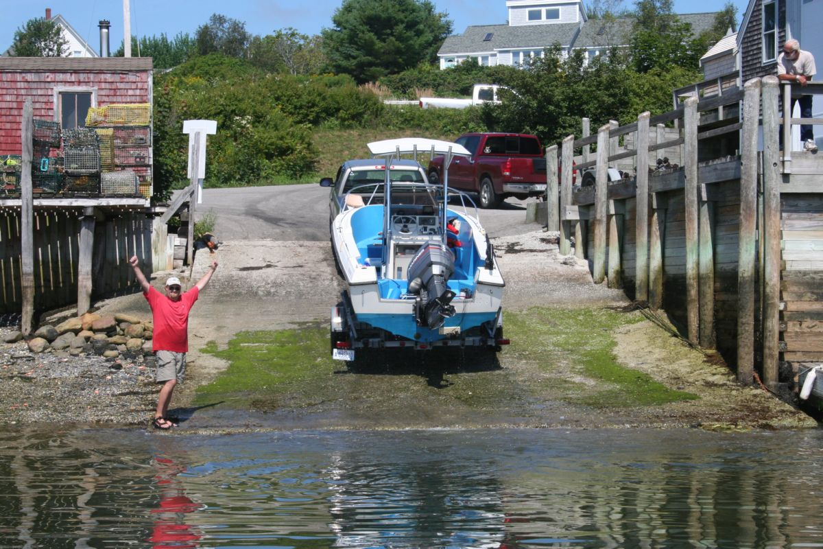 Owner takes the boat to begin the repairs